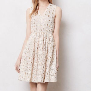 Madchen for Anthropologie Wound Copper Dress